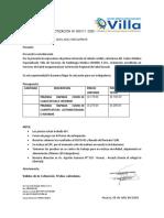 COTIZACION Nº 000111 convenio NE n° 166-2019