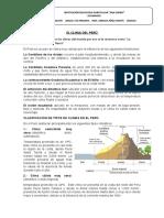 EL CLIMA DEL PERU