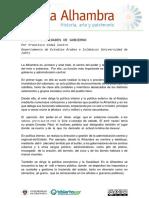 Las actividades de gobierno Alhambra