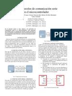 Los protocolos de comunicación serie en el microcontrolador