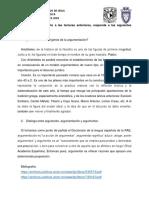 APUNTES SOBRE ARGUMENTACION JURIDICA