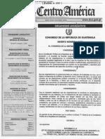 Decreto 04-2020 Reformas a La Ong y Personas Juridicas Del Cc