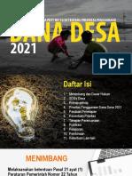 Sosialisasi Permendesa 13 2020