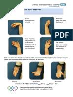 Wrist Active Exercises