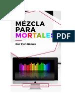 Mezcla para mortales - Yuri Gómez