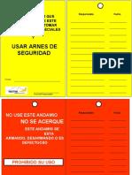 Tarjetas de Andamios WestFire