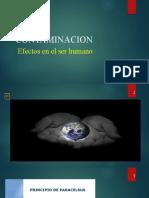 Contaminacion efectos sobre el ser humano