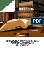 6. Estructura Administrativa Guatemala