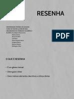 [SEMINÁRIO] Resenha - AB1
