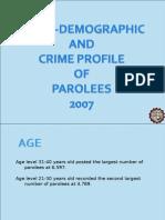 Parolees Profile