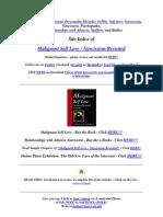 Encyclopedia of Narcissistic Personality Disorder (NPD)