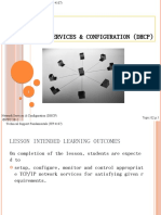 Lect 02 - Network Services Configuration (DHCP)