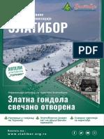 Prvi Broj Elektronskih Novina Turističke Organizacije Zlatibor