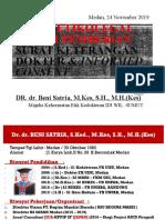 Aspek Etikolegal Dalam Pemberian Surat Keterangan Dokter & Informed Consent