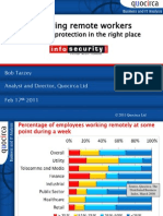 Securing remote workers - the right protection in the right place