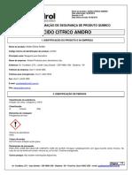 ACIDO CITRICO ANIDRO A-8700