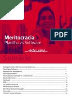 [E-BOOK] Meritocracia - Planilha vs Software