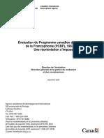 Évaluation-Programme-Canadien-Bourses-Francophonie