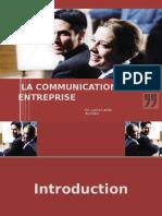 115889092 La Communication en Entreprise