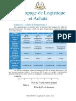 Rattrapage de Logistique et Achats