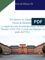 Escola de Manheim  10-2020