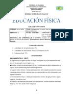 MODULO DE EDU FISICA GRADO 6