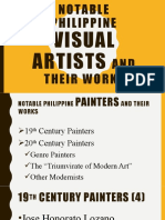 Notable Philippine Visual Artists and Their Works Ppt
