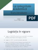 Integritate și etică academică