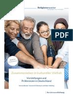 Studie LW Religionsmonitor 2017 Zusammenleben in Kultureller Vielfalt 2018