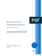 Geogrid Technical information