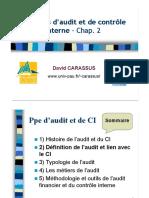 Chapitre2 definition de l'audit et lien avec le controle interne