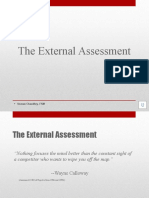 The External Assesment
