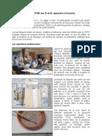 STAGE FFMF des 22 et 23 septembre à Pontarlier