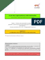 (DOI) (ESE) Leçon n°2 (La définition des OI)