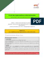 (DOI) (ESE) Leçon n°8 (Les compétences des OI)