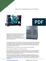 Compatibilidad GRUPO ELECTR.-UPS