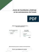 CONCILIACIÓN Y ARBITRAJE 1