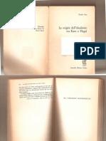 Cesa-Fichte-Origini idealismo