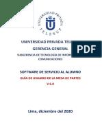 MANUAL DEL GESTOR DE MESA DE PARTES V6.0