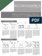 Manual Ceramica Piso