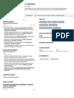 sandeep's Resume