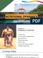 Bab 5 rotational dynamics