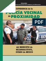 experiencia de la policia vecinal de proximidad Nezahualcoyotl