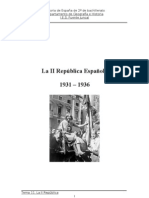 Tema 11. La II República española