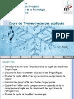 Cours de Thermodynamique Appliquée 7