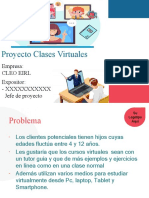 Proyecto clases virtuales