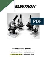 Celestron 44104 microscope User Manual