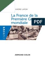 Alexandre-Lafon---La-France-de-la-Premiere-Guerre-mondiale