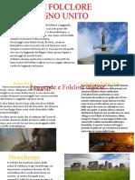 STORIA E FOLCLORE DEL REGNO UNITO