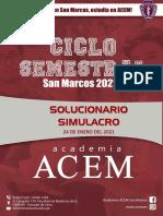 SOLUCIONARIO SIMULACRO 4C3M